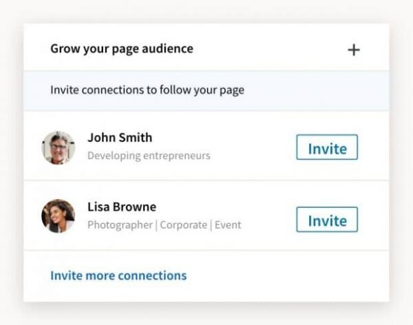 invite connections